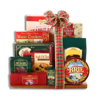 Holiday Treats Cutting Board Gift