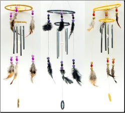 Wind Chimes and Bird Houses