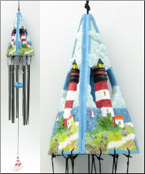 Wind Chime Lighthouse