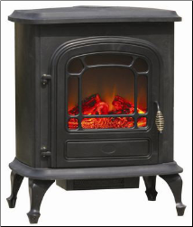 Fire Sense Stowe Electric Fireplace Stove Array