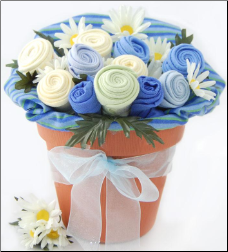 Baby Blossom Clothing Bouquet Gift-Boy