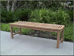 Casablanca 48-Inch Backless Bench - Free Shipping