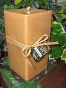 26 oz Square Pillar Soy Candles