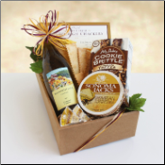 Classic Wine and Cheese Gift Box