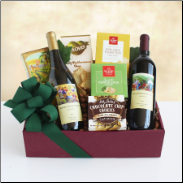Tasting and Toasting Wine Gift Basket