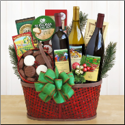 Wine Celebration Gift Basket