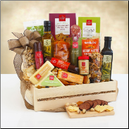 The Ultimate Meat and Cheese Gift Crate