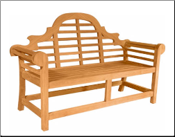 Marlborough 2-Seater Bench - Free Shipping