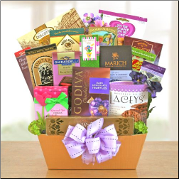 Mom's Day Gourmet Gift Basket