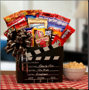 Family Movie Time! Red Box Movie Rental Snack Gift Box