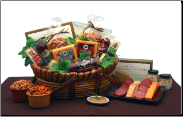 Something Special Meat and Cheese Gift Basket