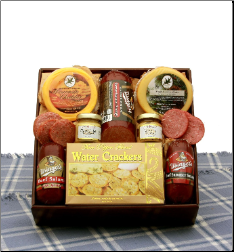 Delectable Meat and Cheese Box