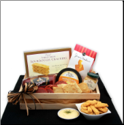 The Perfect Meat and Cheese Snack Gift Crate