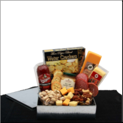 Meat and Cheese Snack Gift Box