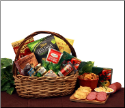Personal Picnic Meat and Cheese Gift Basket