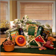 Tastes of Distinction Meat and Cheese Gift Basket
