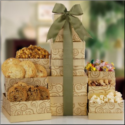 Sophisticated Sweets Gift Tower