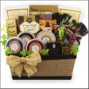 Beautiful and Bountiful Gift Basket