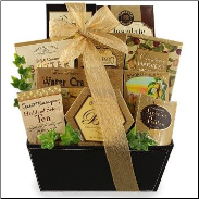 Gourmet Treats Gift Basket