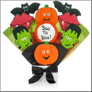 Pumpkin Patch  Halloween Cookie Bouquet
