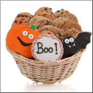 Halloween Cookie Gift Basket