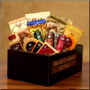 Gourmet Selections Cheese and Meat Gift Box