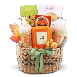 Pumpkin Spice Delight Gift Basket