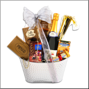 Ring in the New Year Gift Basket