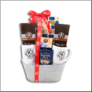 Holiday Coffee Assortment Gift Basket