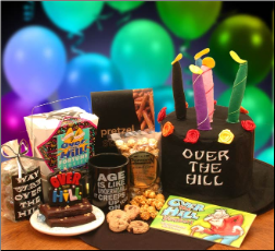 """Don't Cry"" Over The Hill  Birthday Kit"