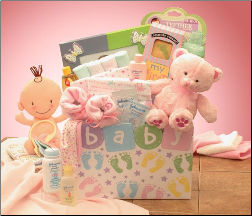 Baby of Mine Baby Gift Box   Available in Pink or Blue