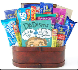 Just For Dad Snack Gift Basket