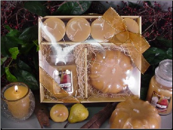 Spiced Pear Candle Gift Set